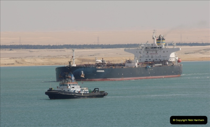 2011-11-10 North to South Transit of the Suez Canal, Egypt.  (190)