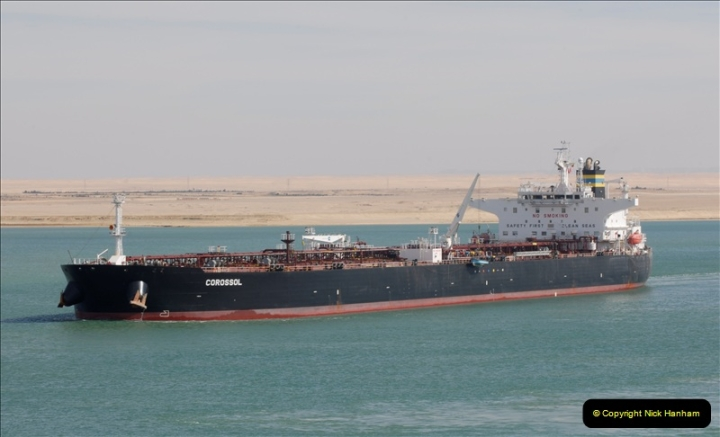 2011-11-10 North to South Transit of the Suez Canal, Egypt.  (192)