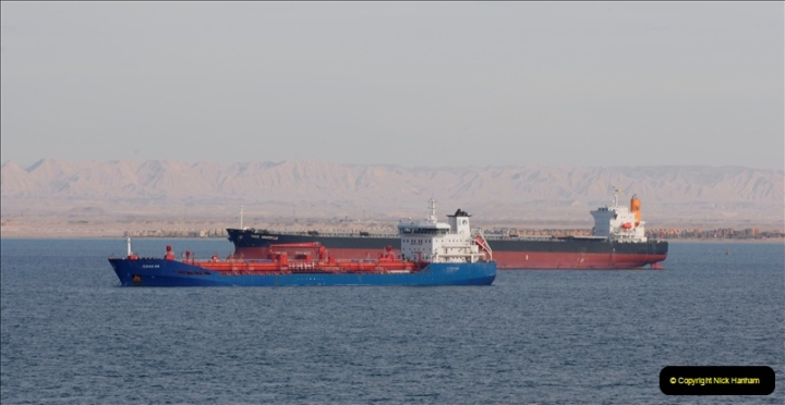 2011-11-10 North to South Transit of the Suez Canal, Egypt.  (241)