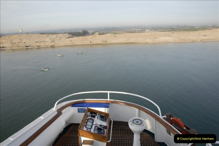 2011-11-10 North to South Transit of the Suez Canal, Egypt.  (3)