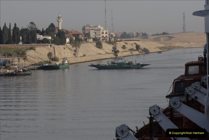 2011-11-10 North to South Transit of the Suez Canal, Egypt.  (34)