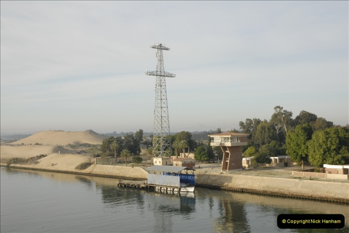 2011-11-10 North to South Transit of the Suez Canal, Egypt.  (6)