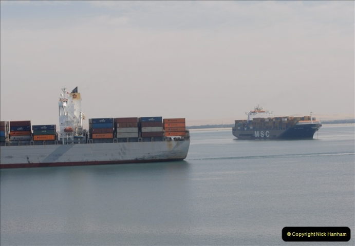 2011-11-10 North to South Transit of the Suez Canal, Egypt.  (87)