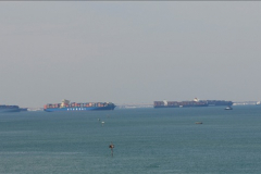 2011-11-10 North to South Transit of the Suez Canal, Egypt.  (169)