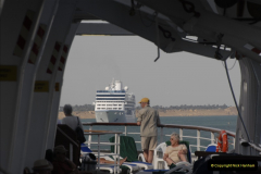 2011-11-10 North to South Transit of the Suez Canal, Egypt.  (205)