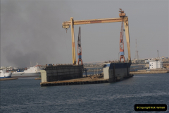 2011-11-10 North to South Transit of the Suez Canal, Egypt.  (228)