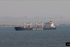 2011-11-10 North to South Transit of the Suez Canal, Egypt.  (245)