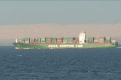 2011-11-10 North to South Transit of the Suez Canal, Egypt.  (278)