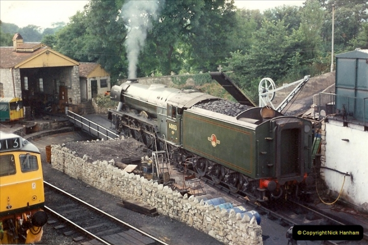 1994-07-16 Flying Scotsman comes to Swanage. (1)0052