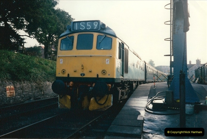 1994-10-20 My last driving turn on the Class 25 prior to its departure.  (2)0102