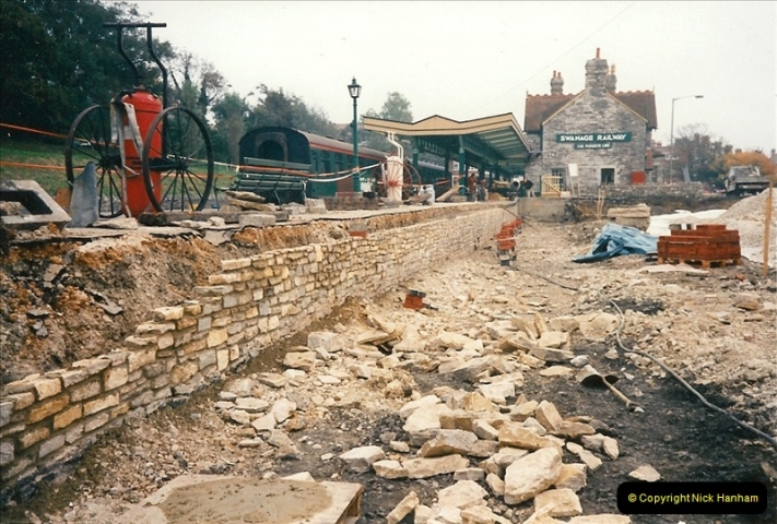 1994-10-22 Swanage progress.  (3)0107