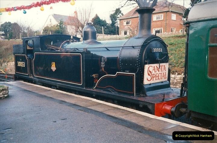 1994-12-04 Santa Specials driving the M7. (2)0124
