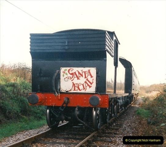 1994-12-04 Santa Specials driving the M7. (7)0129
