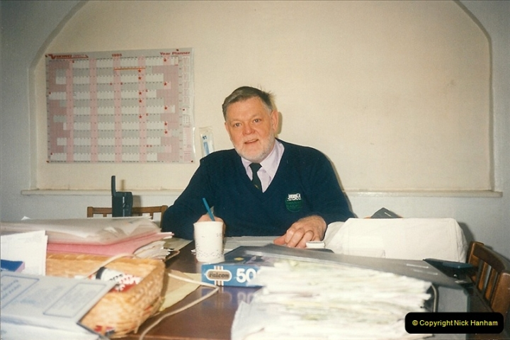 1995-04-13 Your Host working as the Company Safety Officer. (4)0153