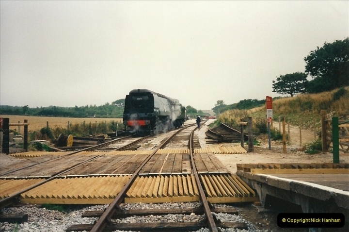 1995-08-12 First trains to Norden. Your Host acting as Inspector in the capacity of CSO.  (1)0230