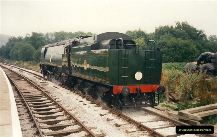 1995-08-12 First trains to Norden. Your Host acting as Inspector in the capacity of CSO.  (2)0231