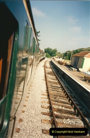 1995-08-12 First trains to Norden. Your Host acting as Inspector in the capacity of CSO.  (5)0234
