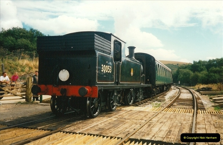1995-09-02 Your Hosts first driving turn on the extension to Norden.  (1)0236