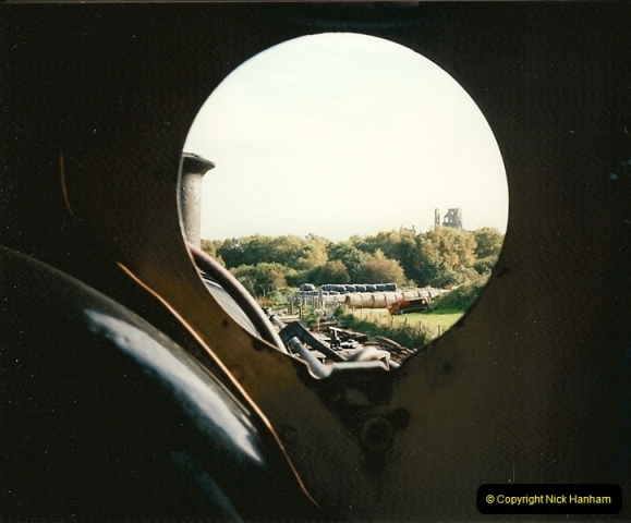 1995-09-02 Your Hosts first driving turn on the extension to Norden.  (11)0246