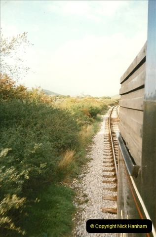 1995-09-02 Your Hosts first driving turn on the extension to Norden.  (4)0239