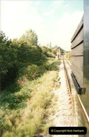 1995-09-02 Your Hosts first driving turn on the extension to Norden.  (6)0241