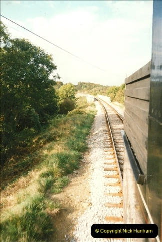 1995-09-02 Your Hosts first driving turn on the extension to Norden.  (8)0243