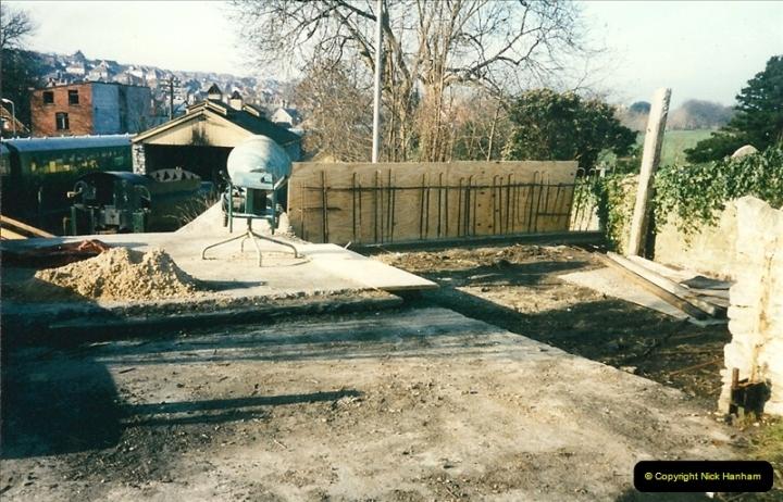 1996-02-20 Swanage coal dock improvements.  (1)0262