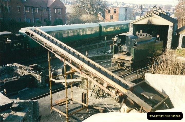 1996-02-20 Swanage coal dock improvements.  (2)0263