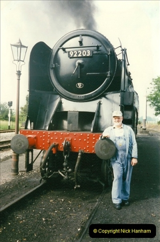 1997-06-16 At Cranmore (ESR) for driving experience on 92203. (12)0494