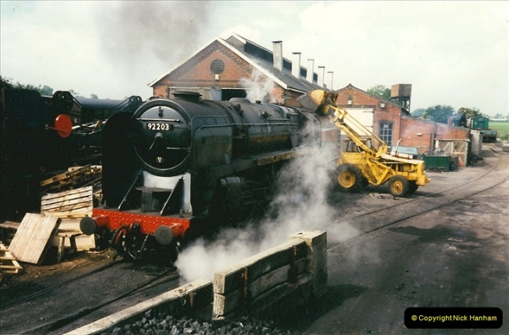 1997-06-16 At Cranmore (ESR) for driving experience on 92203. (14)0496