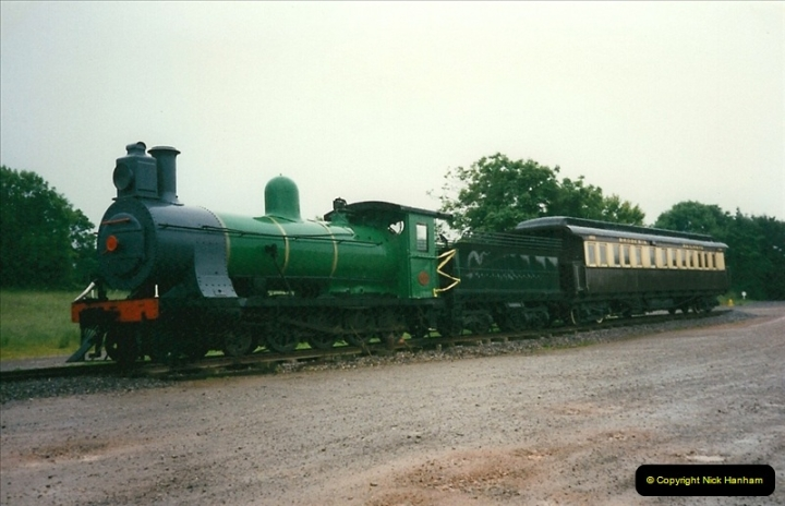 1997-06-16 At Cranmore (ESR) for driving experience on 92203. (18)0500