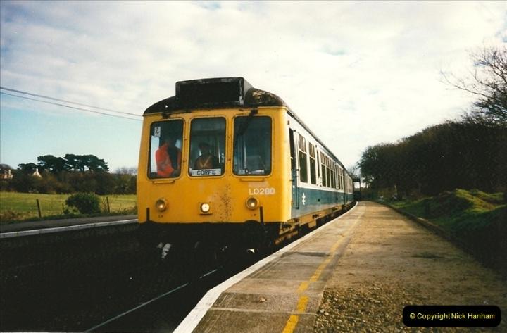 1997-12-14 Santa Specials driving the DMU.  (8)0577