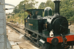 1994-05-01 B4 visiting from the Bluebell Railway. Your Host driving. (1)0031