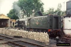 1994-07-16 Flying Scotsman comes to Swanage. (11)0062