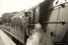 1994-07-16 Flying Scotsman comes to Swanage. (12)0063