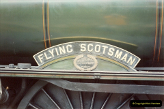 1994-07-16 Flying Scotsman comes to Swanage. (3)0054