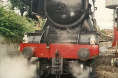 1994-07-16 Your Host drives 60103 on the first day of operation on the evening dining train. (5)0070