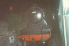 1994-07-16 Your Host drives 60103 on the first day of operation on the evening dining train. (7)0072
