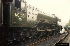 1994-07-18 to 22 Your Host spends a week driving Flying Scotsman.  (12)0084