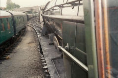 1994-07-18 to 22 Your Host spends a week driving Flying Scotsman.  (17)0089