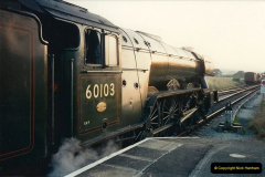 1994-07-18 to 22 Your Host spends a week driving Flying Scotsman.  (9)0081