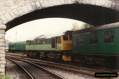 1994-10-20 My last driving turn on the Class 25 prior to its departure.  (1)0101