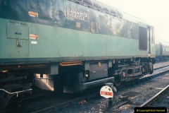 1994-10-20 My last driving turn on the Class 25 prior to its departure.  (3)0103
