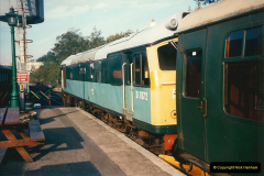 1994-10-20 My last driving turn on the Class 25 prior to its departure.  (4)0104