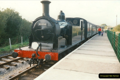 1995-09-02 Your Hosts first driving turn on the extension to Norden.  (10)0245