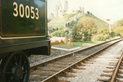 1995-09-02 Your Hosts first driving turn on the extension to Norden.  (5)0240