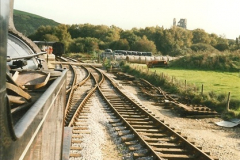 1995-09-02 Your Hosts first driving turn on the extension to Norden.  (9)0244