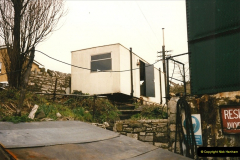 1996-03-22 The Operations Manager moves from the station house to the shed area.  (3)0279