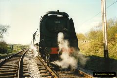 1996-04-27 Your Host driving 34072 and then the first official run with USA 30075 (3)0300