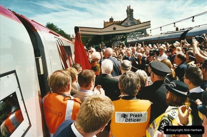 2002-09-08 Virgin Voyager named @ Swanage.  (20)107